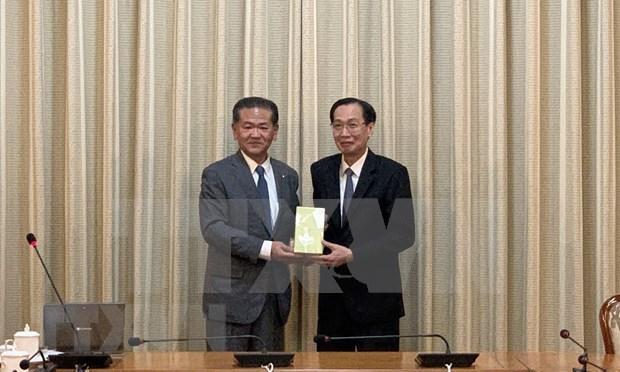 Aspira Ciudad Ho Chi Minh a impulsar cooperacion con urbe japonesa hinh anh 1