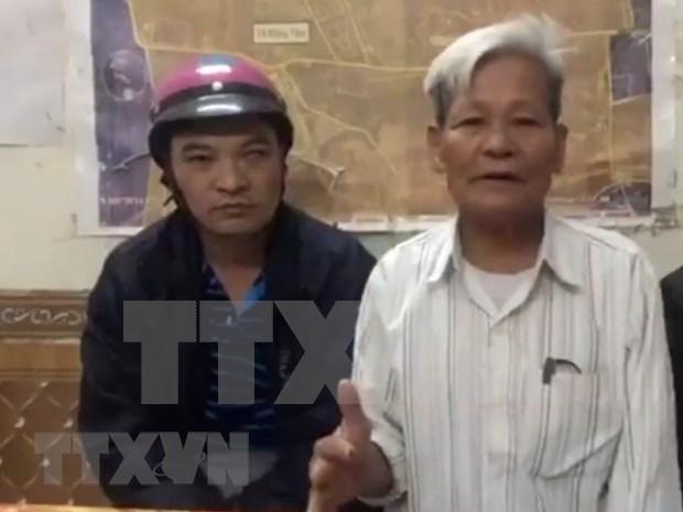 Detectan financiacion a traves de cuentas bancarias a perturbadores en Dong Tam hinh anh 1