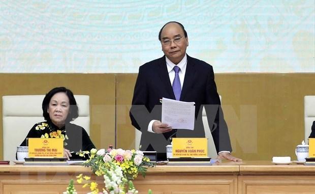 Subraya premier de Vietnam importancia de movilizacion de masas hinh anh 1