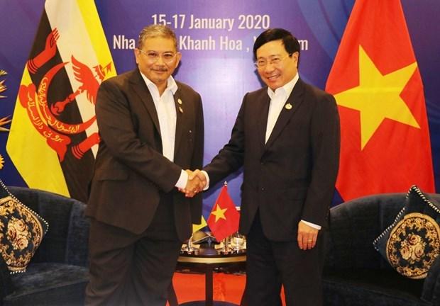 Vietnam y Brunei potencian nexos de asociacion integral hinh anh 1