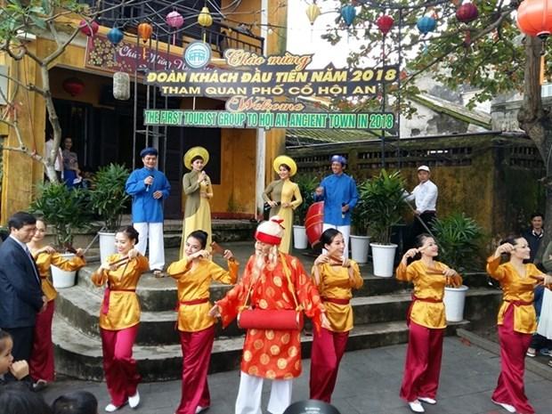 Ciudad vietnamita de Hoi An celebrara Ano Nuevo Lunar con amplias actividades hinh anh 1