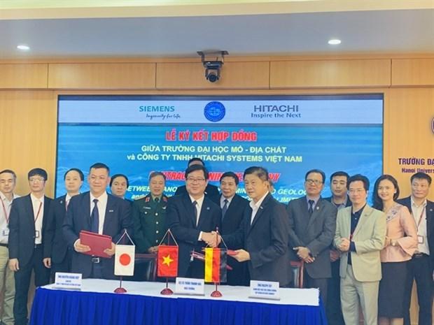 Universidad vietnamita y Hitachi Systems firman acuerdo para laboratorio inteligente hinh anh 1