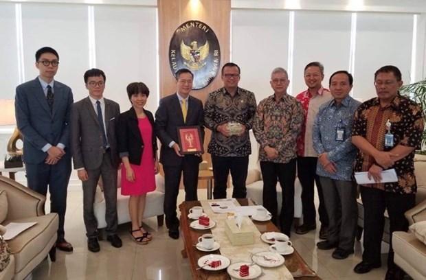 Acuerdan Vietnam e Indonesia impulsar la cooperacion marina y pesquera hinh anh 1
