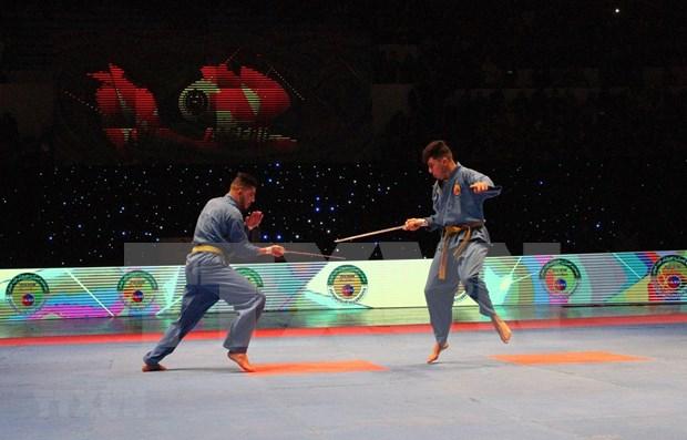 Concluye el XVII Campeonato Nacional del Arte Marcial vietnamita Vovinam en Argelia hinh anh 1