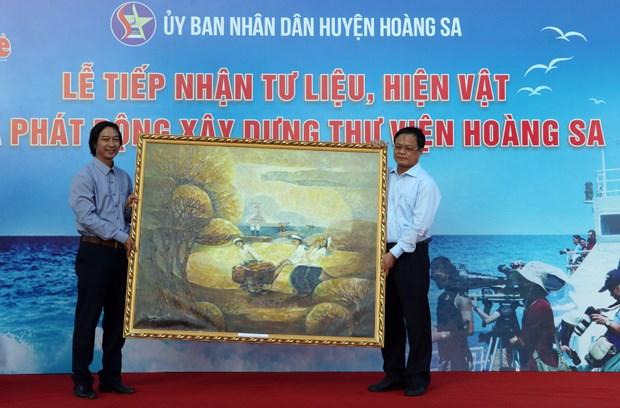 Evidencian documentos y objetos soberania de Vietnam sobre Mar del Este hinh anh 1
