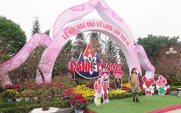 Inauguran Festival de flores de durazno en la provincia vietnamita de Lang Son hinh anh 1