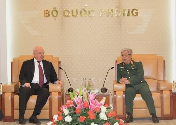 Proponen participacion activa de la defensa rusa en Ano de ASEAN 2020 en Vietnam hinh anh 1