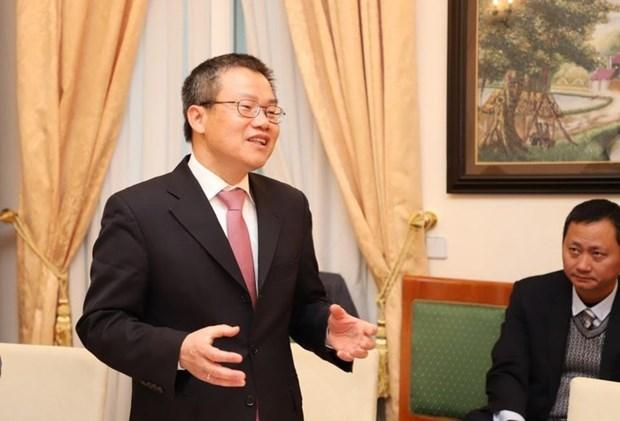 Refuerzan Vietnam y Alemania la red de innovacion hinh anh 1
