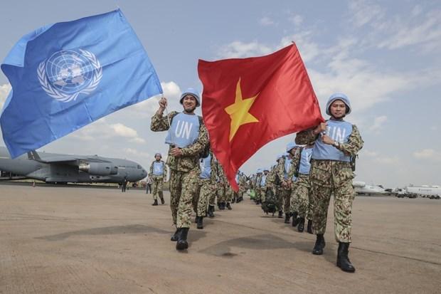 Destacan aportes de Vietnam a misiones del mantenimiento de la paz mundial hinh anh 1