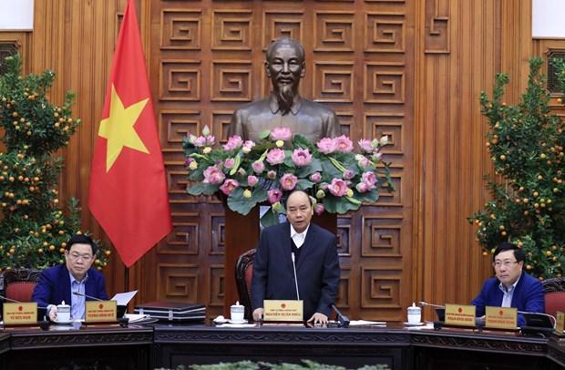Pide premier de Vietnam mayor atencion a areas apartadas con motivo del Tet hinh anh 1