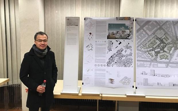 Vietnam gana primer premio en concurso internacional de diseno de planificacion hinh anh 1
