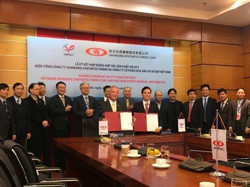 Cooperan empresas de Vietnam y Taiwan en produccion de hilados hinh anh 1