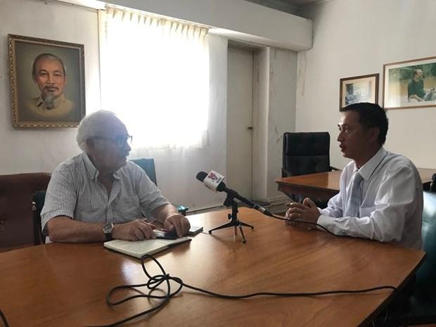 Argentina resalta papel del Partido Comunista de Vietnam hinh anh 2