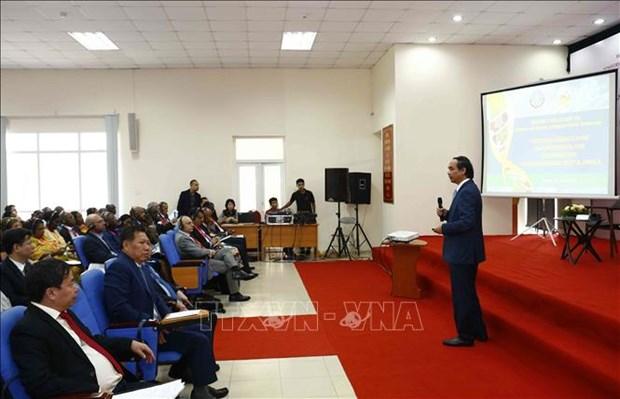 Cuadruplican intercambio comercial entre Vietnam-Africa-Medio Oriente en 11 anos hinh anh 1