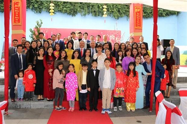 Vietnamitas en exterior se congregan en ocasion del Tet hinh anh 1