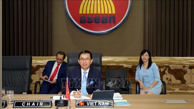 Vietnam preside reunion del Consejo Ejecutivo del Instituto de Paz y Reconciliacion de ASEAN hinh anh 1