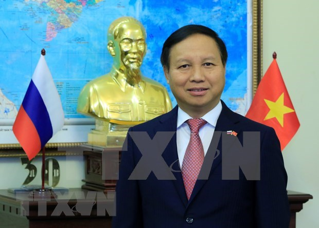 Efectuan mesa redonda sobre 70 anos de cooperacion entre Rusia y Vietnam hinh anh 1