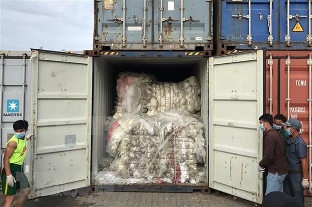 Devuelve Malasia contenedores de desechos plasticos a sus paises de origen hinh anh 1