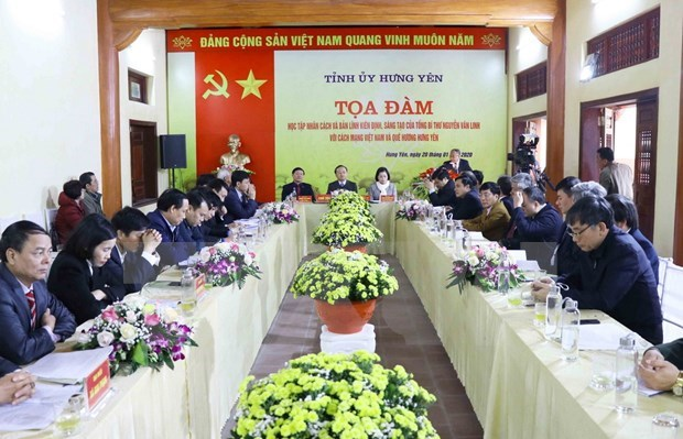 Destacan aportes del extinto secretario general Nguyen Van Linh con la revolucion vietnamita hinh anh 1