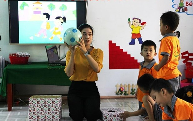 Organizacion belga lanza un programa educativo en Vietnam hinh anh 1