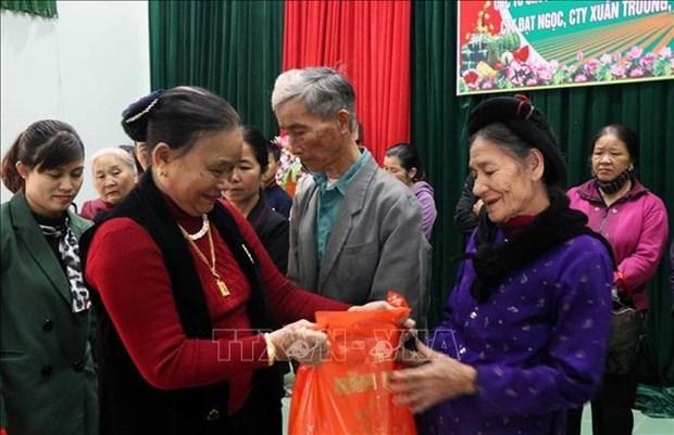 Entregan regalos del Tet a desfavorecidos en provincia vietnamita de Quang Tri hinh anh 1