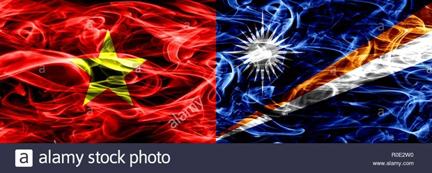 Congratula Vietnam a nuevos lideres de Marshall hinh anh 1