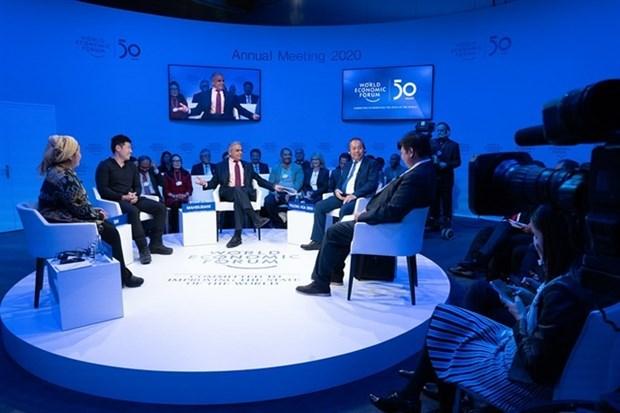 Destaca Vietnam las prioridades de ASEAN en Foro de Davos 2020 hinh anh 1