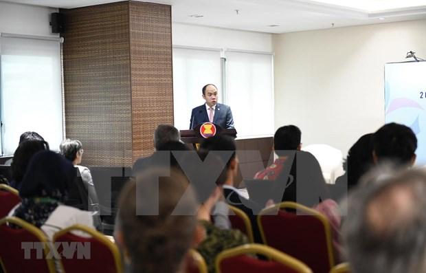 Lanzan Ano de Identidad de ASEAN 2020 hinh anh 1