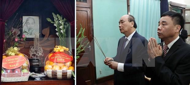 Recuerdan al Presidente Ho Chi Minh en ocasion del Tet hinh anh 1