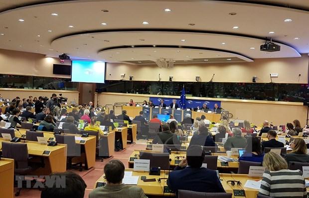 Prensa alemana indaga respaldo de Comision de Comercio Internacional de PE al EVFTA hinh anh 1