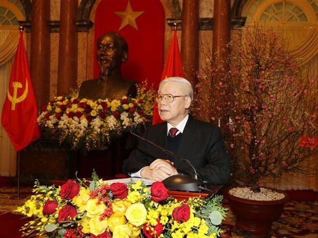Insta maximo dirigente de Vietnam a aprovechar potencialidades de desarrollo hinh anh 1