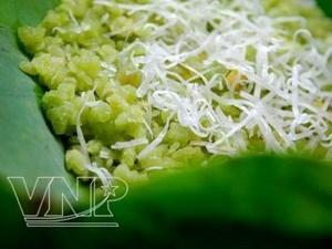 Xoi com, una especialidad de Hanoi en otono hinh anh 1