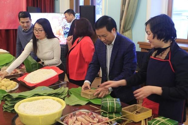Vietnamitas en Rusia celebran Ano Nuevo Lunar hinh anh 1