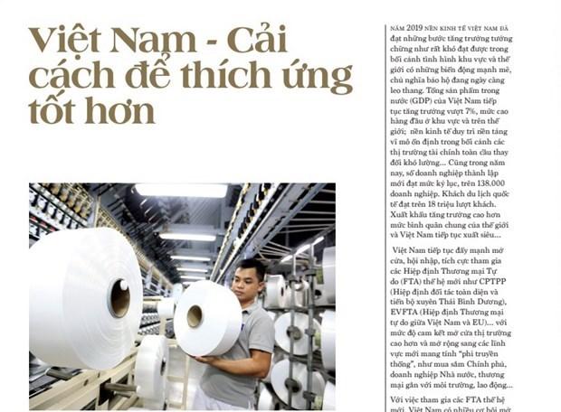 VNA publica libro con previsiones sobre 2020 de personalidades mundiales y vietnamitas hinh anh 1