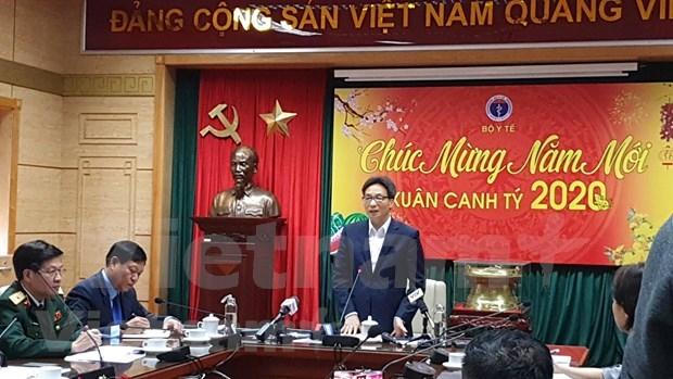 Vicepremier de Vietnam exige mayor esfuerzo por prevenir propagacion de coronavirus hinh anh 1