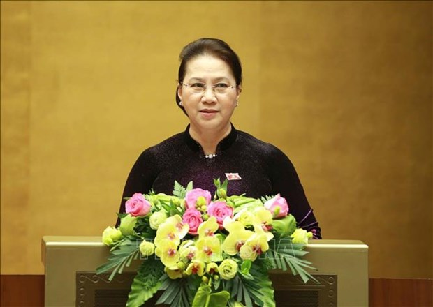 Resalta maxima legisladora vietnamita papel del Parlamento en reforma institucional hinh anh 1