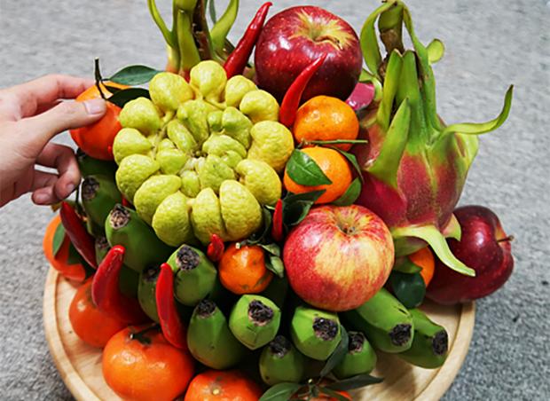 """""""Mam Ngu Qua"""" envia sabores tradicionales del Tet hinh anh 1"""