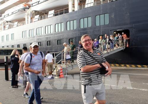 Recibe Da Nang primer crucero turistico en el Ano Nuevo Lunar 2020 hinh anh 1