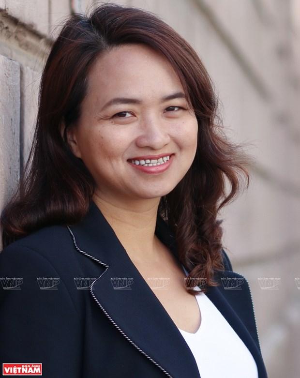 Phan Thi Ha Duong y el sueno de transmitir amor a matematicas a estudiantes vietnamitas hinh anh 1