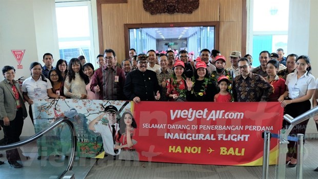 Inaugura aerolinea vietnamita de bajo costo ruta entre Hanoi y Bali hinh anh 1