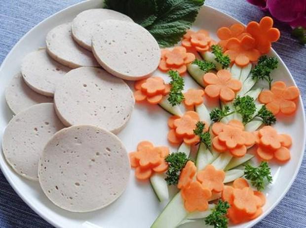 Gio lua, plato indispensable en fiestas tradicionales en Vietnam hinh anh 1