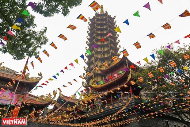 Resalta torre budista valores historicos de Vietnam hinh anh 1