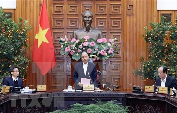 Suspenden vuelos entre Vietnam y areas infectadas por coronavirus hinh anh 1
