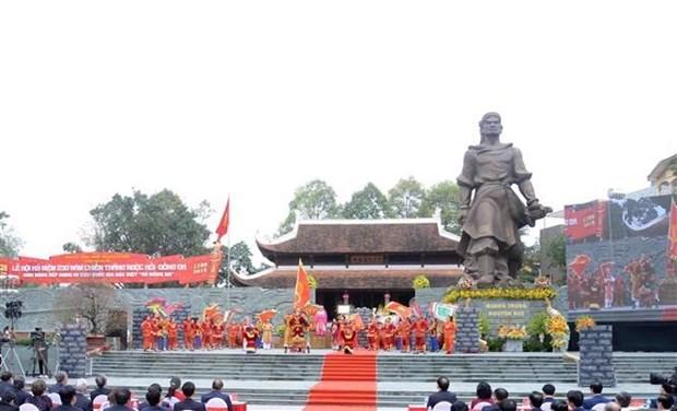Conmemoran en Vietnam epico triunfo contra invasores foraneos hinh anh 1
