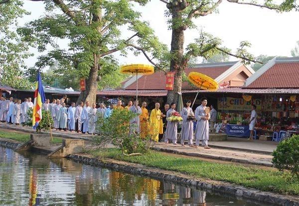 Inauguran en provincia de Thai Binh Festival primaveral de la pagoda Keo hinh anh 1