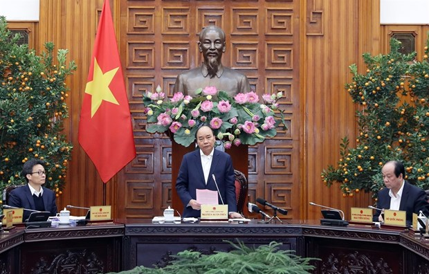 Prevencion de epidemia por coronavirus, tarea prioritaria del gobierno de Vietnam hinh anh 1