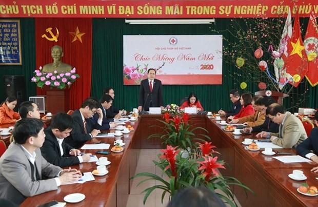 Resaltan aportes de la Cruz Roja Vietnam al desarrollo del pais hinh anh 1