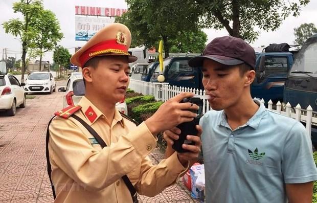 Disminuyen accidentes de trafico en Vietnam durante el Tet hinh anh 1