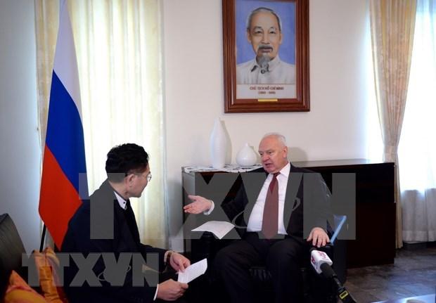 Dispuesto Rusia a impulsar colaboracion con Vietnam en su cargo de presidente de ASEAN 2020 hinh anh 1