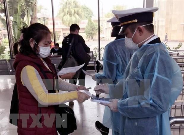 Refuerzan en localidades vietnamitas medidas para prevenir propagacion de coronavirus hinh anh 1